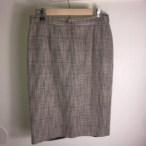 Newport News Tweed Pencil Skirt